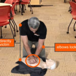 Proper Position When Perming CPR